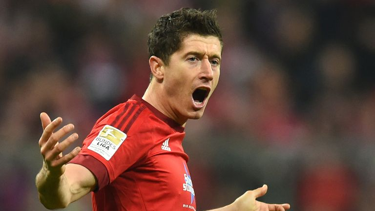 Robert Lewandowski is open to extending his contract at Bayern Munich