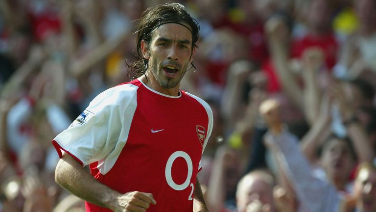 Robert Pires of Arsenal