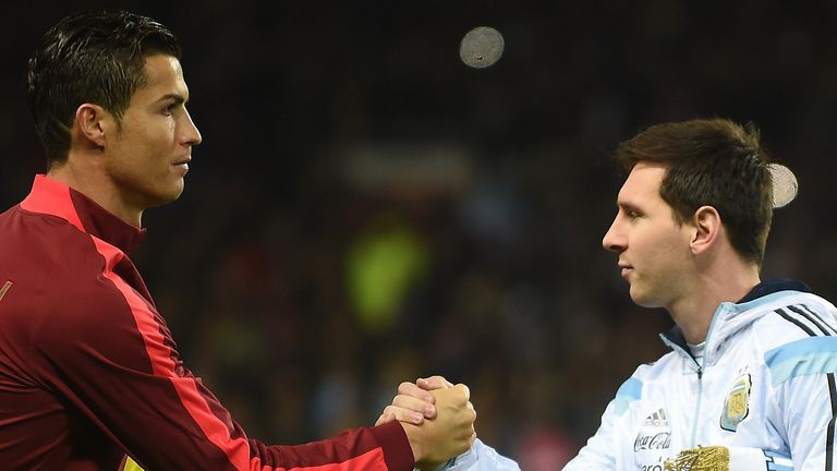 Cristiano Ronaldo and Lionel Messi are the benchmark for Kane