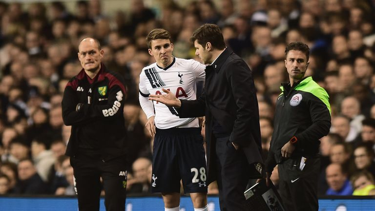 Tom Carroll has been in fine form for Tottenham this season
