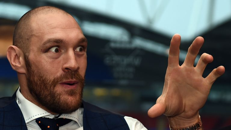 Haye says Tyson Fury does not want to fight him