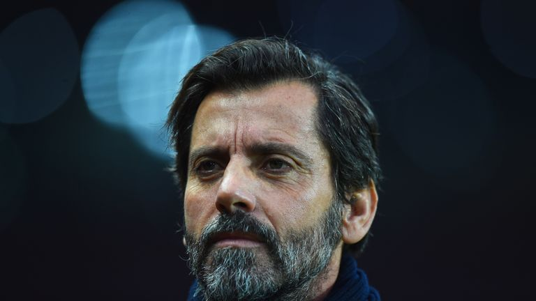 Quique Sanchez Flores will say his goodbyes to Watford