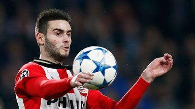 Gaston Pereiro scored PSV's winner against Feyenoord