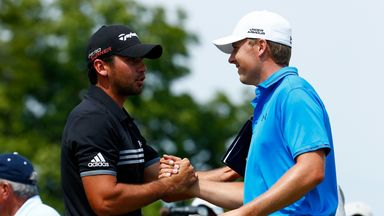 Jason Day (left) and Jordan Spieth feel much better than they did two weeks ago