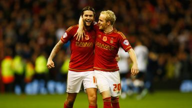 Henri Lansbury: Netted twice in Forest win