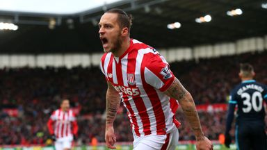Mark Hughes is desperate to hang on to Marko Arnautovic