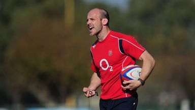 Paul Gustard said England's defence improved in the second half against Scotland