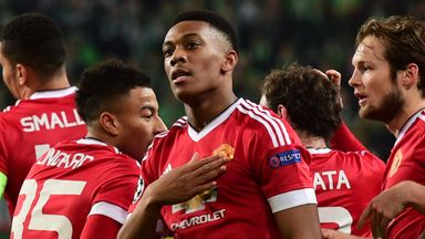 Anthony Martial was Manchester United