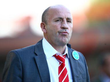 Accrington Stanley manager John Coleman
