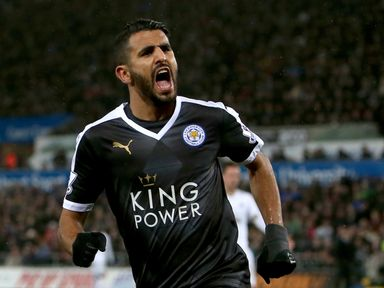 Can Riyad Mahrez help Leicester seal the title in style on Sunday?
