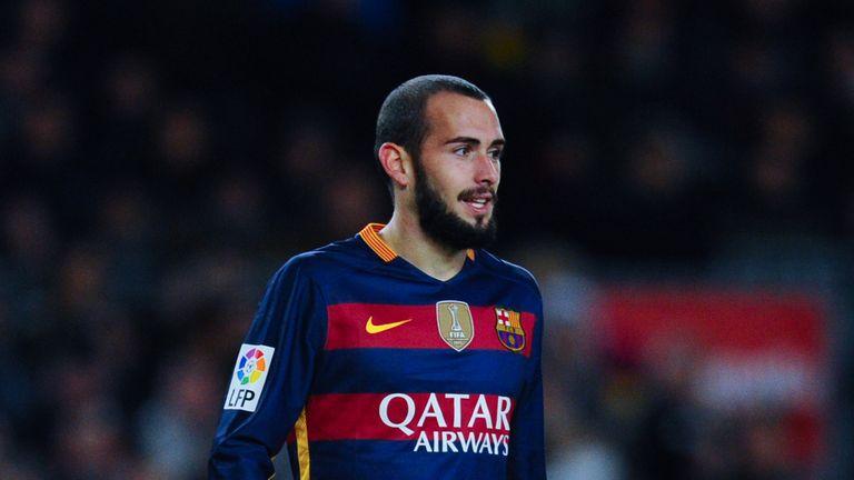 Vidal made his Barca bow as a substitute against Espanyol
