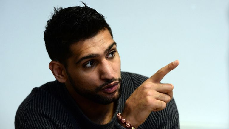 Khan is determined to make a point in Las Vegas in May