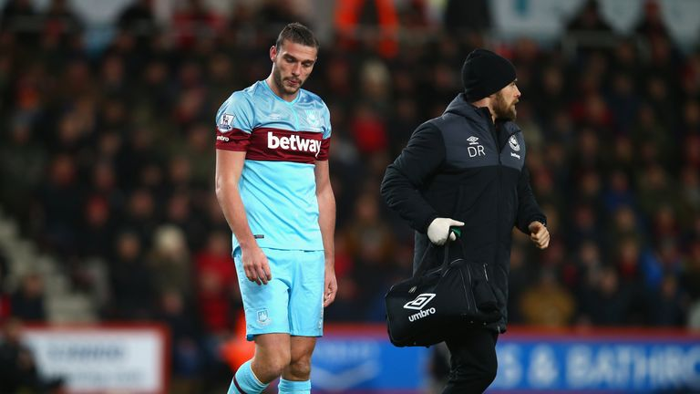 Andy Carroll hopes to make his return from injury on February 8