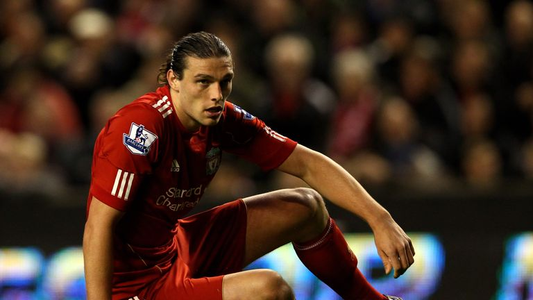 Andy Carroll joined Liverpool from Newcastle for £35m
