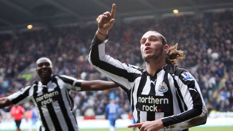 Andy Carroll had been in excellent form for Newcastle before his move to Liverpool