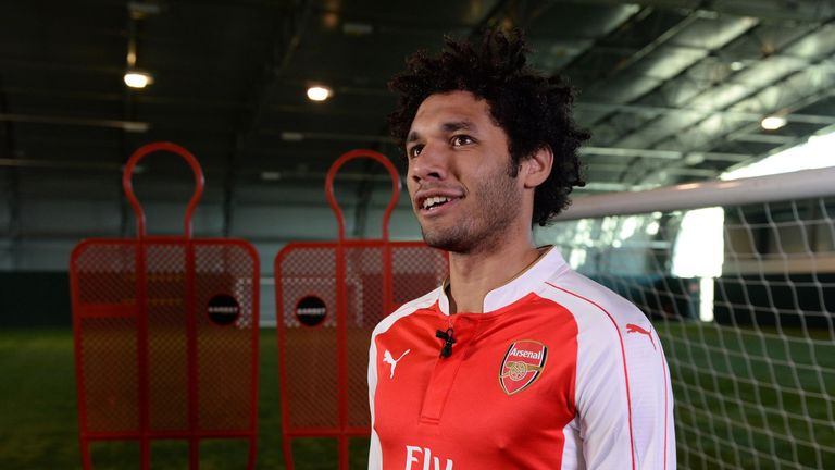 Arsenal signed Mohamed Elneny earlier in this window