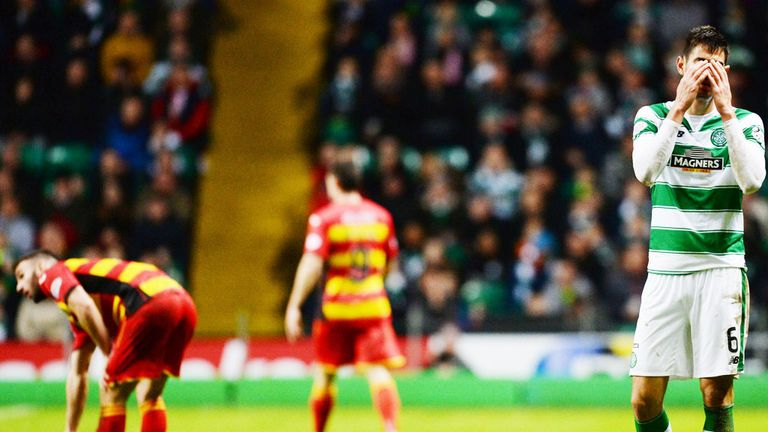 Nir Bitton was dismissed for his challenge on the grounded Gary Miller