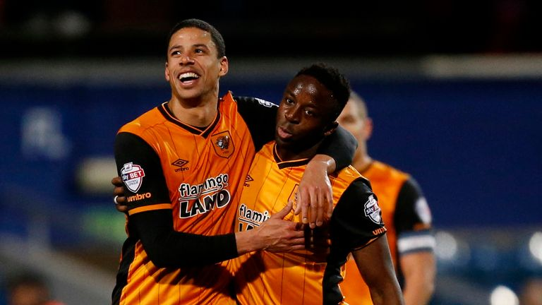 Curtis Davies (L) is out of contract this summer