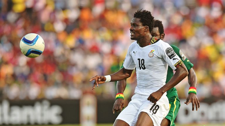 Amartey in action for Ghana last year