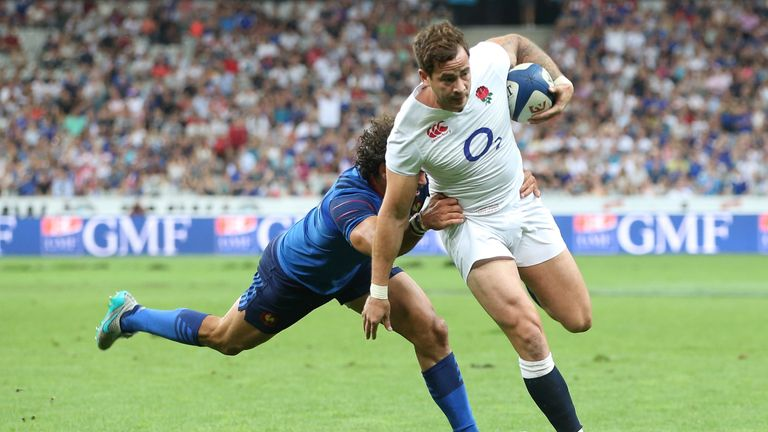 Danny Cipriani's last England appearances came against France in 2015