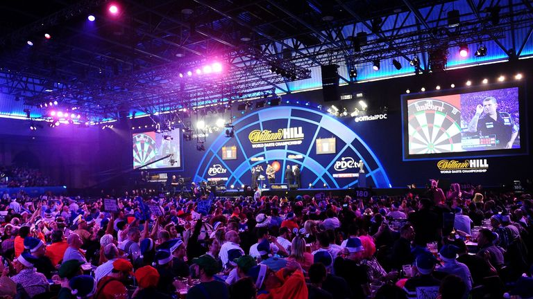 The World Darts Championship is currently held at London's Alexandra Palace