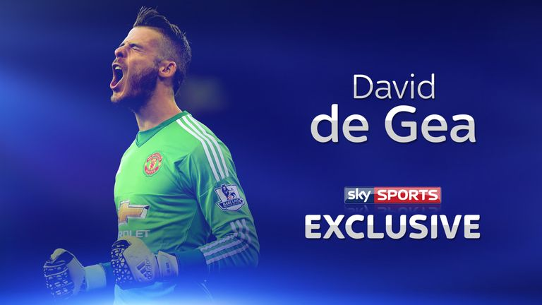 David de Gea wants to be the best goalkeeper in the world