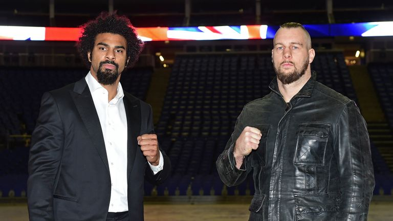 Haye will return to the ring when he faces Mark de Mori next Saturday