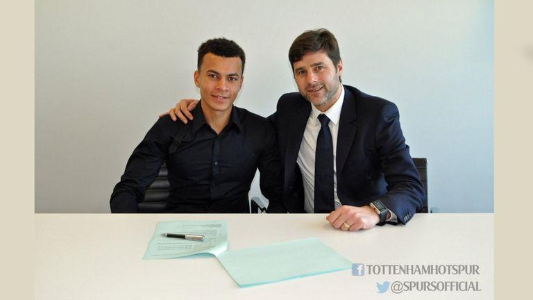 Pochettino congratulates Alli on his new deal