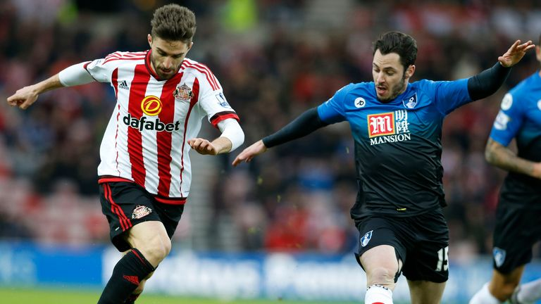 Fabio Borini played a key role in Sunderland's equaliser