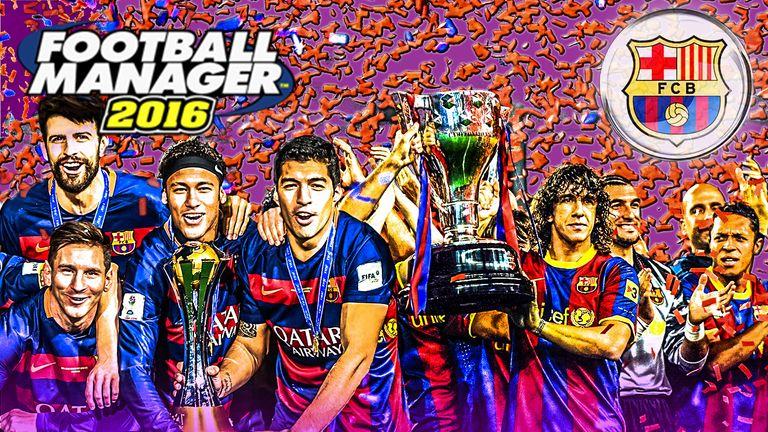 Barcelona Team Pics 15 16