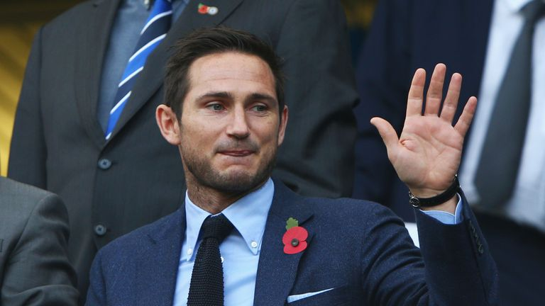 Frank Lampard is on a list of candidates to become the next Ipswich manager
