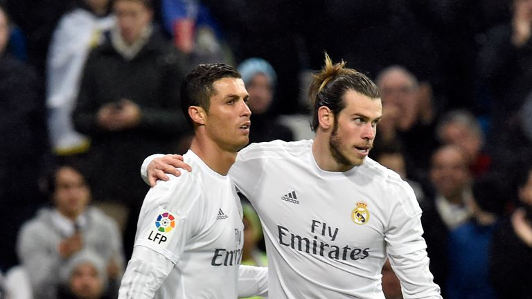 Cristiano Ronaldo (left) and Gareth Bale are both available