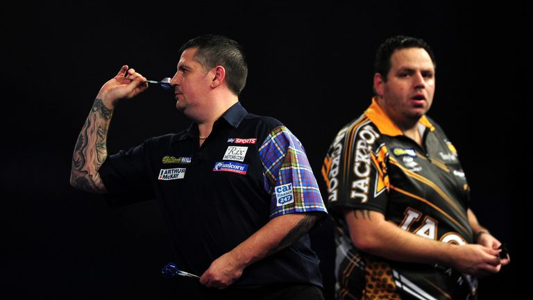 Gary Anderson will play Adrian Lewis again in Leeds
