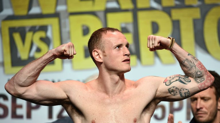 George Groves begins a fourth journey towards a world title