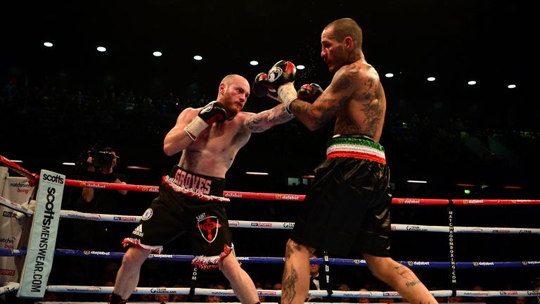 Stable-mate Carl Frampton believes Groves has one of 'the best jabs in the business'