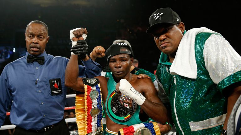Guillermo Rigondeaux has been demoted to 'Champion in Recess'