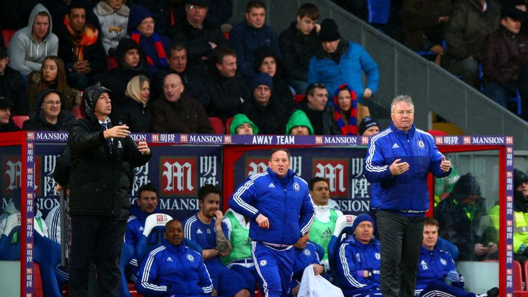 Guus Hiddink doesn't think Pep Guardiola is playing a game by revealing his interest in a Premier League move