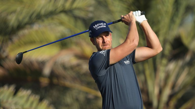 Henrik Stenson led going into the final round in 2013 before finishing third