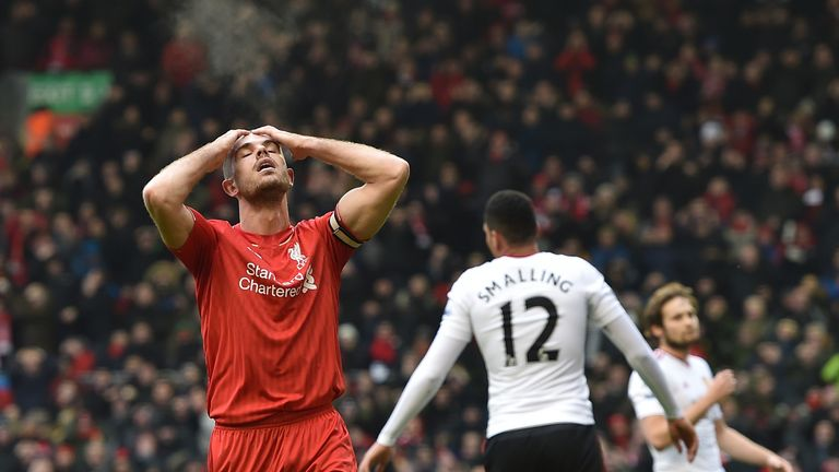 Defensive errors led to rivals Manchester United sneaking a win at Anfield at the weekend