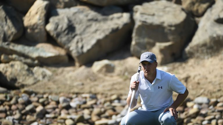 Spieth posted a four-under 68 on Sunday