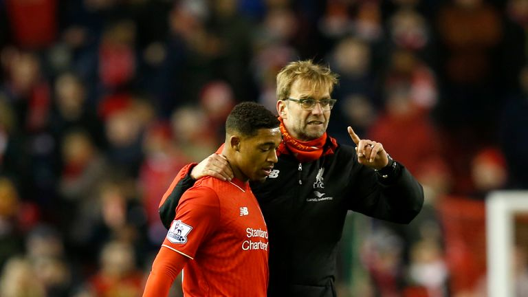 Jordon Ibe (left) is one of 13 players out injured for Liverpool