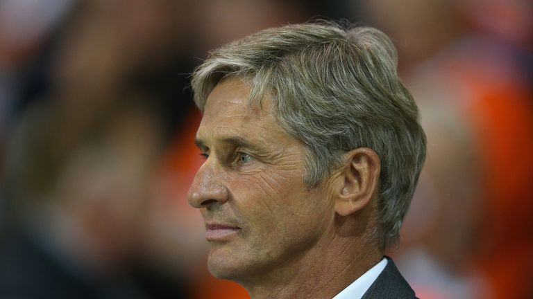 Jose Riga has a tough task to keep Charlton in the Championship