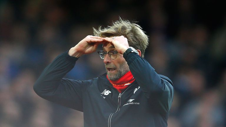 Jurgen Klopp was not happy with Liverpool's performance in draw at Augsburg