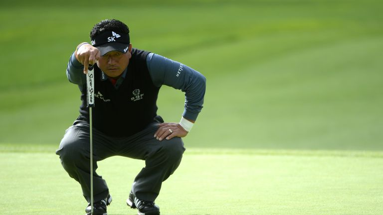 Choi staged a fine fightback with three birdies in his last six holes