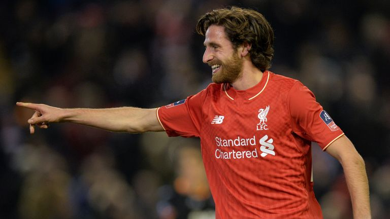 Liverpool midfielder Joe Allen has been linked with a return to Swansea