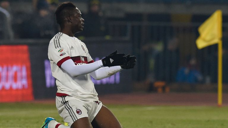 Balotelli has been sent back to Liverpool by AC Milan after a poor season