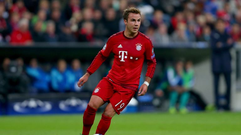 Mario Gotze won't leave Bayern Munich this month but his long-term future is uncertain