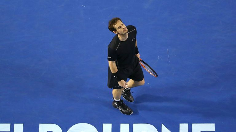 Murray suffered his fourth Australian Open final defeat at the hands of Djokovic