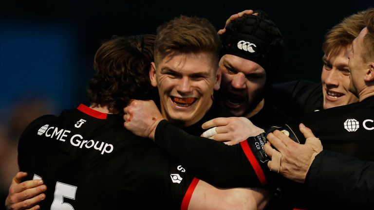 Owen Farrell's Grand Slam winning form is expected to continue in the colours of Saracens