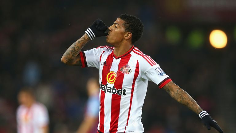 Patrick van Aanholt hit Sunderland's opener in the first half